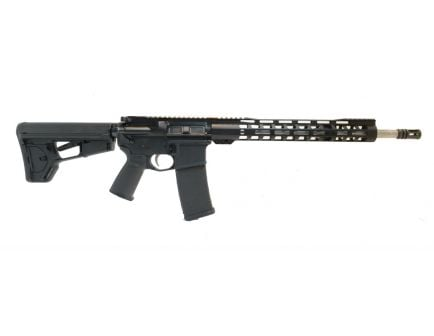 "PSA 16"" Mid-Length 5.56 NATO 1/7 Stainless Steel Lightweight M-Lok MOE+ EPT ACS-L Rifle"
