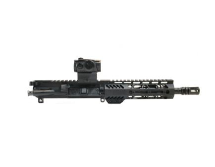 "PSA 8.5"" Pistol-length 5.56 NATO 1/7 Phosphate 7"" Lightweight M-Lok Railed Upper With Romeo 5, BCG, & CH"