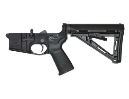 PSA AR-15 Complete Stealth Lower Magpul MOE Edition - Black, No Magazine - 5165500387