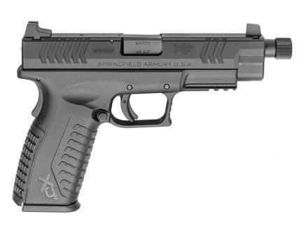 "Springfield XD-M 4.5"" .45acp Pistol w/ Black Threaded Barrel - XDMT94545BHC"