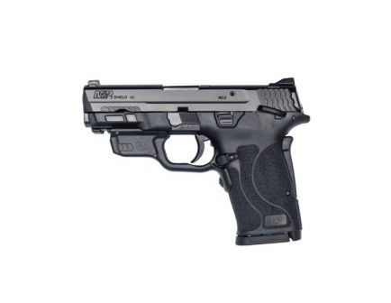 """Smith & Wesson Shield EZ 8rd 3.6"""" 9mm Pistol w/ Red Laser - 12438"""