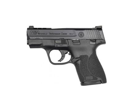 """Smith & Wesson Ported M&P M2.0 Shield 7rd 3.1"""" 40S&W Pistol w/ Night Sights - 11870"""