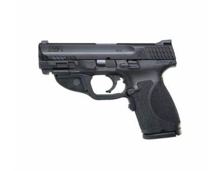 "Smith & Wesson Shield M2.0 4"" 15rd 9mm Pistol w/ Green Laser - 12413"