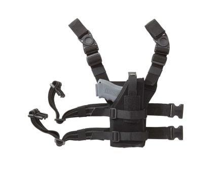 Blackhawk Nylon Omega VI Universal Ambidextrous Drop-Leg Holster, Black - 40ALH1BK