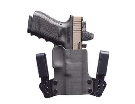 Black Point Tactical Mini WING Right Hand GLOCK G43X Subcompact IWB Hybrid Holster, Black - 115947