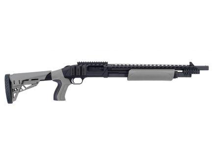 "Mossberg ATI Tactical 18.5"" 5rd 12ga Pump Shotgun, Grey/Black - 50431"