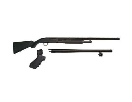 "Mossberg 500 3-in-1 18.5"" & 28"" 5rd 12ga Pump Shotgun, Black - 51482"