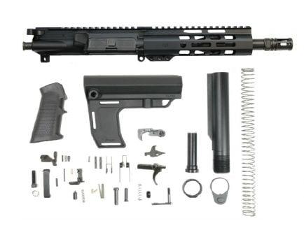 "PSA 8.5"" Pistol 5.56 1/7 NATO Nitride 7"" Lightweight M-Lok Classic MFT Battlelink Pistol Kit"