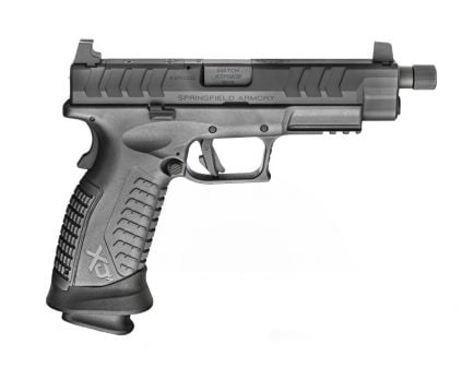 "Springfield Pistol XDM Elite OSP 4.5"" 22rd 9mm Pistol w/ Threaded Barrel, Black - XDMET9459BHCOSP"