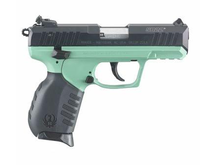 """Ruger SR22 3.5"""" 10rd 22lr Pistol, Turquoise Cerakote - 3625"""