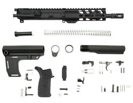 "PSA 7.5"" 5.56 NATO 1/7 Phosphate 6""  Lightweight M-Lok MFT Battlelink Pistol Kit"