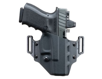 Crucial Concealment Covert Right Hand TAURUS G2C OWB Holster, Black - 1007
