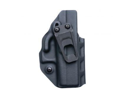 Crucial Concealment Covert Ambidextrous Glock 19 IWB Holster, Black - 1018