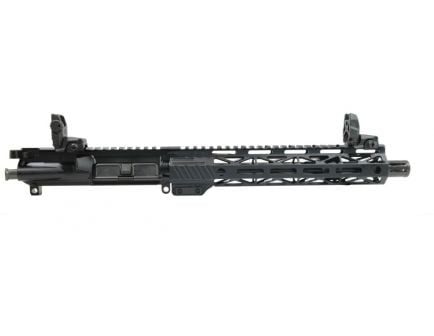 "PSA 10.5"" Carbine-Length 5.56 NATO 1/7 Phosphate 10.5"" Lightweight M-Lok Upper w/MBUS Sight Set, BCG, & CH"