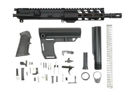 "PSA 7.5"" 5.56 NATO 1/7 Phosphate 6""  Lightweight M-Lok Classic MFT Battlelink Pistol Kit"