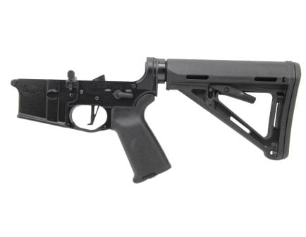 PSA AR-15 Complete Lower CMC Magpul MOE Edition - Black, No Magazine -