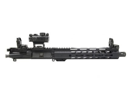 "PSA 10.5"" 5.56 NATO 1/7 Phosph. 10.5"" LTWT M-Lok AR-15 Upper W/ Romeo MSR, MBUS Sight Set, BCG, & CH"
