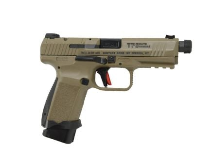 Canik TP9 Elite Combat 9mm Pistol w/ Full Accessory Kit, FDE - HG6481D-N