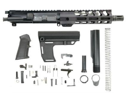 "PSA 7.5"" 5.56 NATO 1/7 Phosphate 7"" Lightweight M-Lok Classic MFT Battlelink Pistol Kit"