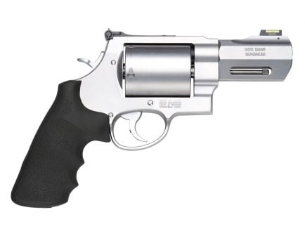 """Smith & Wesson Model 500 3.5"""" 5rd 500 S&W Magnum Revolver w/ HI VIZ Sights, Stainless Steel - 11623"""