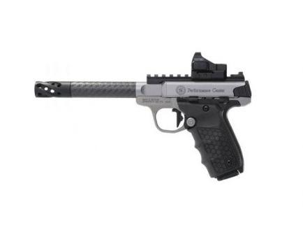 Smith & Wesson SW22 Victory Target .22lr Pistol w/ Carbon Fiber Barrel & Red Dot Sight  - 12081