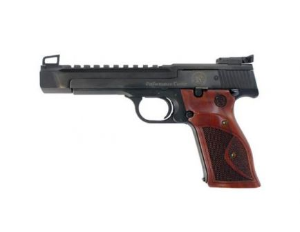 Smith & Wesson Model 41 10rd 22lr Pistol, Carbon Steel w/ Wood Grip - 178031