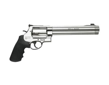 """Smith & Wesson Model 500 8.38"""" 5rd 500 S&W Magnum Revolver, Stainless Steel - 163500"""