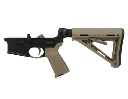 PSA AR15 Complete MOE EPT Stealth Lower, FDE