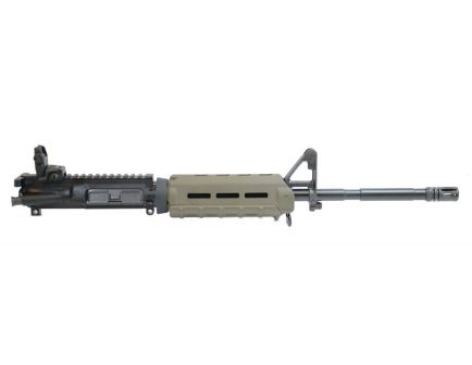 "PSA 16"" M4 Carbine Length 5.56 NATO 1/8 Phosphate MOE Upper With BCG, CH, & MBUS Rear, Olive Drab Green"
