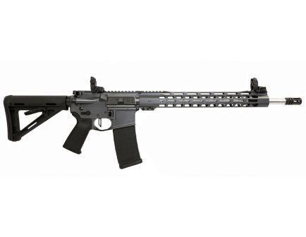 "PSA Custom .223 Wylde 18"" Rifle-Length 1/7 SS  15"" Slim-Line MLOK MOE Rifle w/ Ambi Safety, 3.5lb Flat Bow FCG & MBUS - Grey"