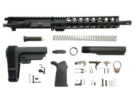 """PSA 11.5"""" 5.56 1/7 Phosphate 10.5"""" Lightweight M-Lok MOE SBA3 Pistol Kit"""