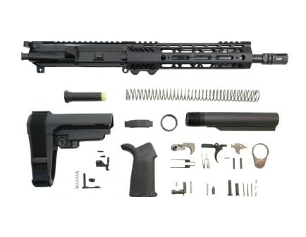 "PSA 10.5"" Carbine-Length 5.56 NATO 1/7 Phosphate 9"" Lightweight M-Lok MOE SBA3 Pistol Kit"