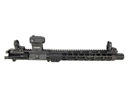 "PSA 10.5"" Carbine-Length 5.56 NATO 1/7 Phosphate 12"" M-Lok Slant Upper with MBUS Sight Set & Holosun Red Dot"