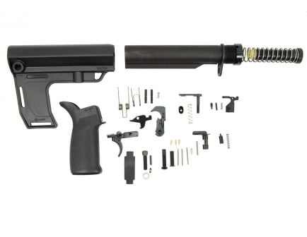 PSA MFT Battlelink Pistol Lower Build Kit, Black