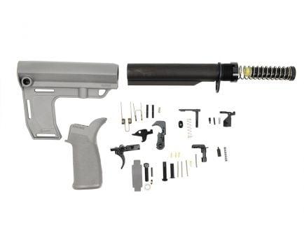 PSA MFT Battlelink Pistol Lower Build Kit, Gray