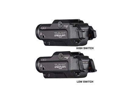 Streamlight TLR-10 1000 lm White LED Tactical Weapon Light w/ Integrated Laser, Black - 69470