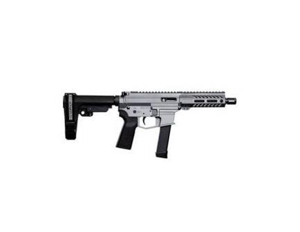 Angstadt Arms UDP-9 9mm AR-15 Pistol w/SBA3 Brace, Tactical Gray Cerakote - AAUDP09BG6