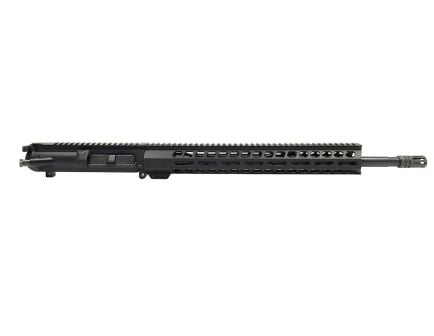 """PSA Gen3 PA10 18"""" Mid-Length .308 1/10 Nitride 15"""" M-lok Upper - With BCG & CH"""