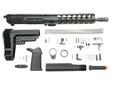 """PSA Gen4 10.5"""" 9mm 1/10 Nitride 9"""" Lightweight M-lok Railed MOE EPT SBA3 Pistol Kit"""