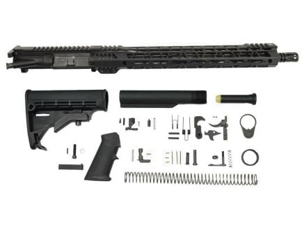 "PSA 16"" M4 Carbine-Length 5.56 NATO 1:7 Nitride 15"" Lightweight M-Lok Freedom Rifle Kit"