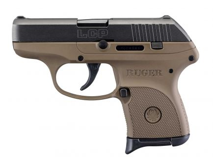 """Ruger Pistol LCP 380 ACP Pistol FS 6rd 2.75"""", FDE -3732"""