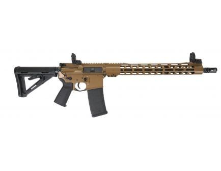 "PSA Custom 5.56 NATO 16"" Nitride 15"" MLOK MOE Rifle w/ 3.5lb Curved FCG- Coyote"