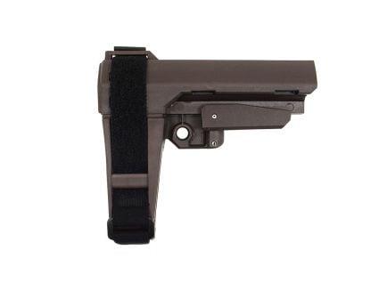 SB Tactical SBA-3 Adjustable Brace, Plum