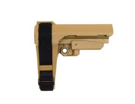 SB Tactical SBA-3 Adjustable Brace, FDE