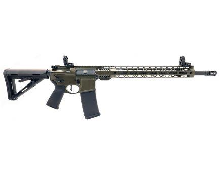 """PSA Custom .223 Wylde 18"""" CHF 15"""" MLOK MOE Rifle w/ 3.5 lb Flat FCG - ODG"""