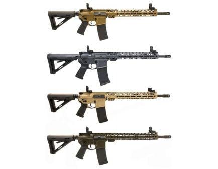 "PSA Custom 5.56 NATO 16"" Nitride 13.5"" MLOK MOE Rifle w/ 3.5 lb Curved FCG"