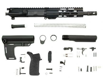 "PSA 8.5"" Pistol-length 300AAC 1/8 Phosphate 7"" Lightweight M-Lok MFT Battlelink Pistol Kit"