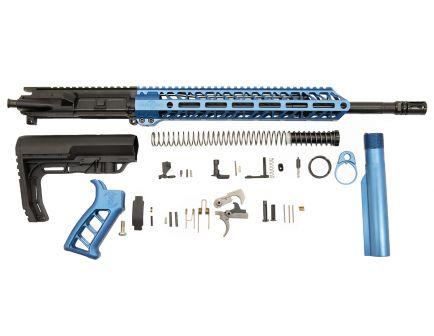 "PSA 16"" 5.56 NATO 1/7 Mid-Length Nitride 13.5"" Lightweight M-Lok Timber Creek Enforcer MFT Minimalist EPT Rifle Kit, Blue"