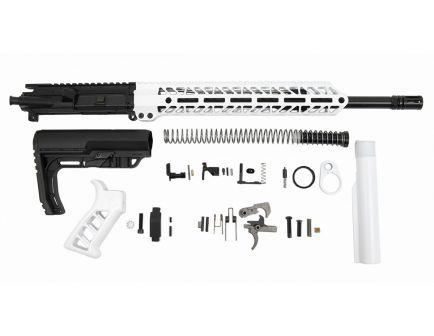 """PSA 16"""" 5.56 NATO 1/7 Mid-Length Nitride 13.5"""" Lightweight M-Lok Timber Creek Enforcer MFT Minimalist EPT Rifle Kit, White"""