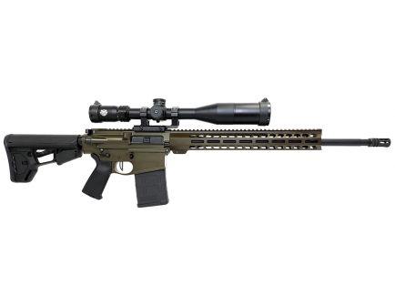 "PSA Custom 20""  Teflon Coated SS  6.5 Creedmoor 15"" Lightweight MLOK MOE Rifle w/ 6-24x50mm Optic, Flat Bow FCG, Ambi Safety, & ACS Stock"